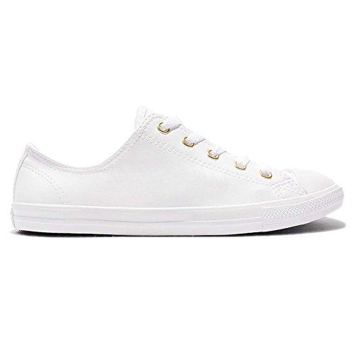 Converse Chuck Taylor All Star Damen Sneaker Dainty Low Ox White/ Gold ( White), Schuhe Damen:39: Amazon.co.uk: Shoes & Bags