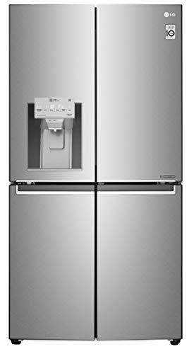 LG 889 L Inverter Linear Frech-Door Side by Side Refrigerator (GR-J31FTUHL, VCM-shiny saffianor, Multi Air Flow Cooling)