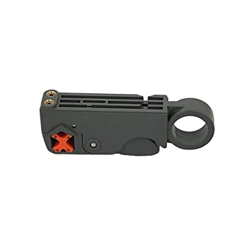Valley Empresas® Cable Coaxial Stripper RG59 RG6 RG58 giratorio 2 Cuchillas: Amazon.es: Electrónica