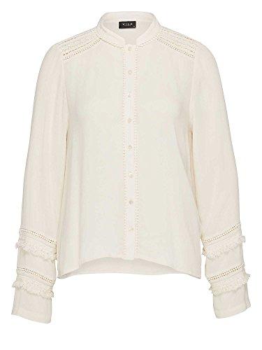 Vila Justa - Camisa Mujer crema