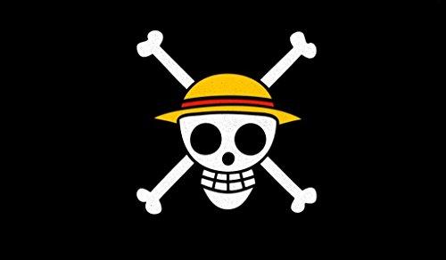 One Piece Flag Jolly Roger Crest TCG playmat, gamemat 24