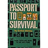 Passport to Survival, Esther Dickey, 0394492285