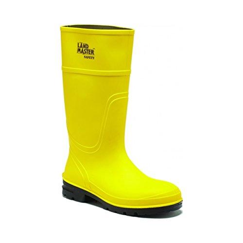 Dickies Mens Landmaster Safety Toe Cap Midsole PVC Wellington Boots Verde