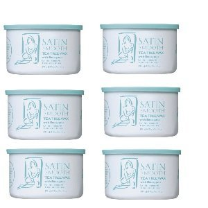 Satin Smooth Tea Tree Wax 6 Pack by Satin Smooth