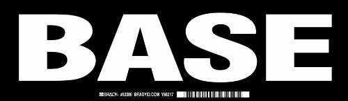 (Brady 60286,  Cabinet Label , 3 1/2