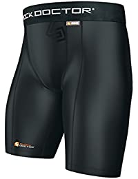 Performance Compression Short with Cup Pocket, Men's & Boy's sizes