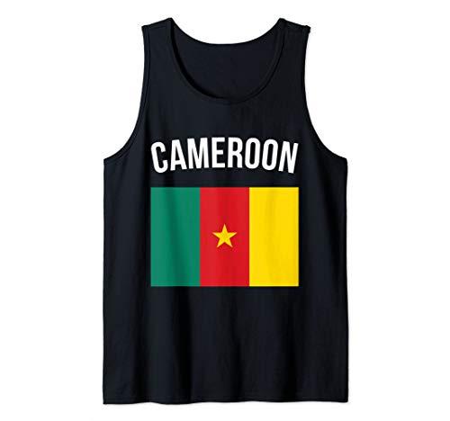 Cameroon Tank Top Cameroonian Flag Souvenir Cameroon Flag Tank Top