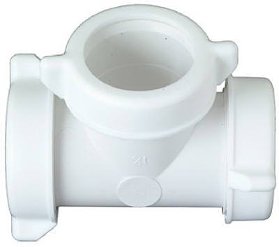 Drain Tee Kitchen (Master Plumber 1-1/4-Inch Or 1-1/2-Inch O.D. Tube Slip Joint Lavatory/Kitchen Drain Tee)