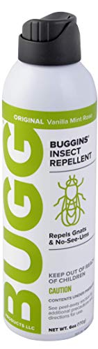 BUGGINS Natural 6oz Insect Repellent 0% DEET (continuous spray)