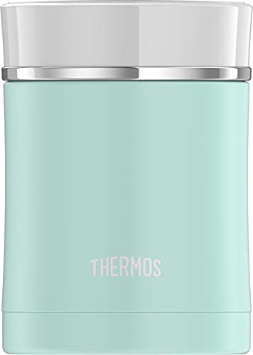 Thermos Sipp 16 Ounce Stainless Steel Food Jar, Matte Turquoise