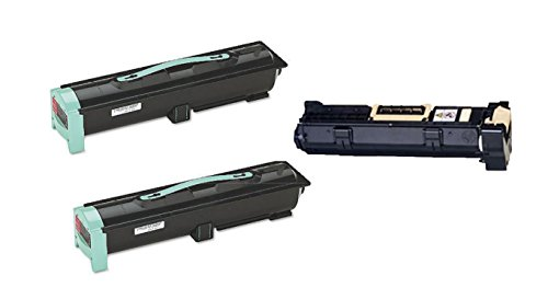 W840 Series ((2 Toner + 1 Drum) Compatible Remanufactured Lexmark Toner Cartridge and Drum Unit for use in W840 series printer.)
