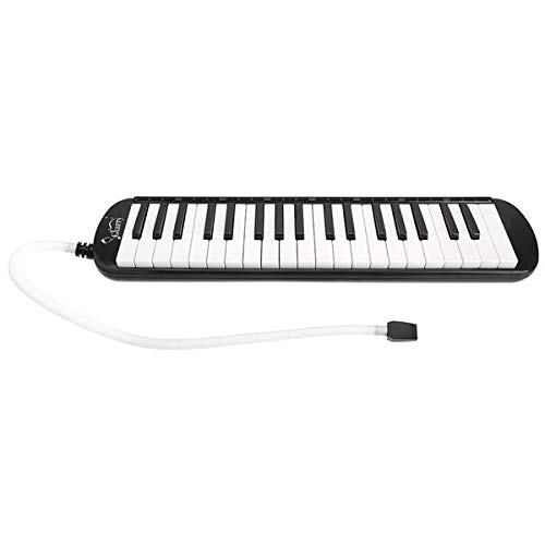 Genetic Los Angeles 37-Key Melodica with Mouthpiece & Hose & Bag Black