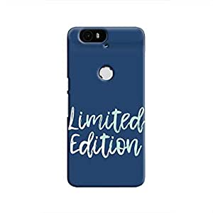 Cover It Up - Limited Edition Blue Nexus 6P Hard Case