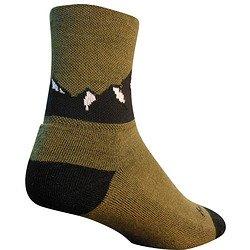 SockGuy Colorado Mountain 6in Wool Socks One Color, L/XL - Men's