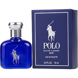 Ralph Lauren Polo Blue Eau de Toilette Splash/Dab-On, 0.5 - Ralph Polo Lauren Blue