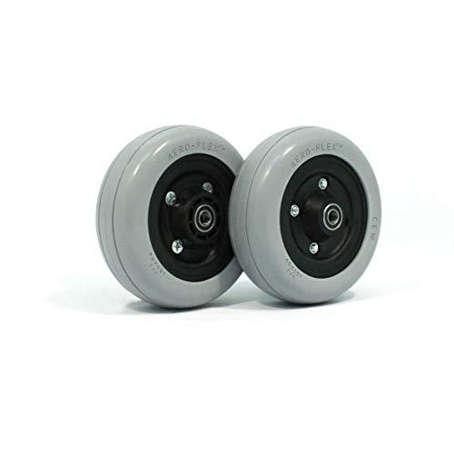 Invacare 1122066 Semi-Pneumatic Wheelchair Wheel Hub 6x2 (Pair)
