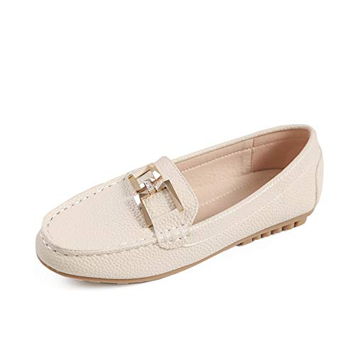 work EU and comfortable shoes shoes non slip bottom ladies Spring flat maternity office fashion FLYRCX 37 shoes autumn casual soft IH45awfxq