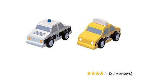 Plantoys Plan City Taxi And Police Car Vehicle
