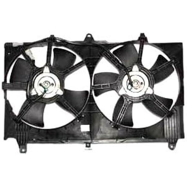 Radiator Fan Assembly For 2003-2008 Infiniti FX35 2007 2004 2005 2006 TYC 621210