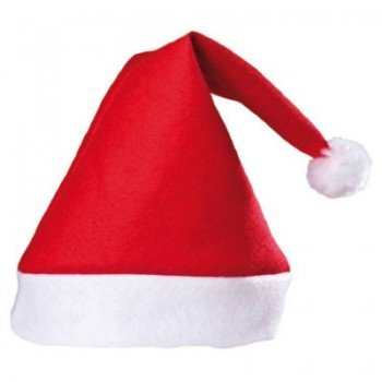 3b515d275ee Buy Masti Zone Set of 2 Christmas Santa Claus Hat   Santa Claus Cap Merry Christmas  Hat Cap for Christmas  Xmas Party Celebration (Cap Santa 2) Online at ...