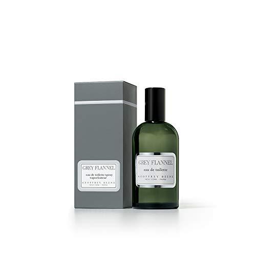 Geoffrey Beene Grey Flannel Men's Perfume, Eau De Toilette Daytime Luxurious Spray, 4 oz