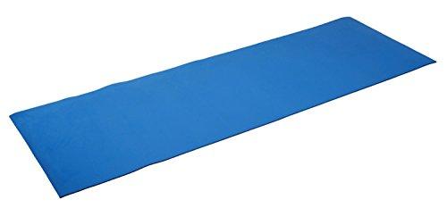 silly.con Fit & Fun 14012 – fitness- en yogamat, blauw, van EVA – schuim, ca. 173 x 61 x 0,5 cm