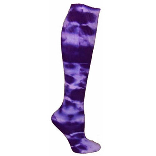 Red Lion Adult Revolution Tie Dyed All Sport Socks-Purple-Medium