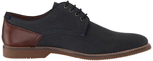 Steve Madden Heren Newstead Oxford Navy Fabric
