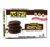 Udi's Gluten Free Muffin Tops Chocolate Chia - 4 CT by Udi's by Udi's