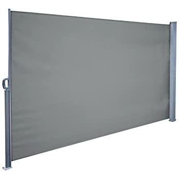 Charming New Version Winsmooth Retractable Side Awning Folding Screen Patio Garden  Coffee Shop Outdoor Privacy Divider,