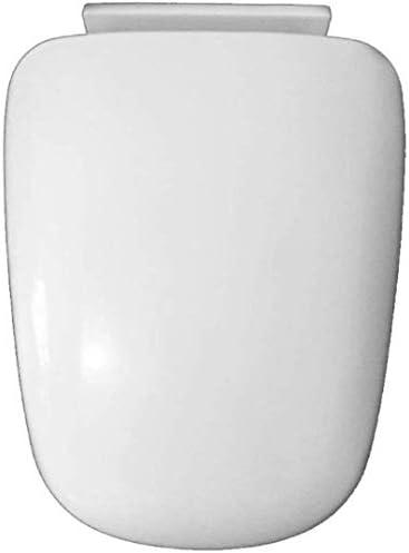 Yxsd PPボードと便座は、台形便座用ボトムマウントされたトイレの蓋をきれいにする* 34センチメートルホワイト-40〜44をミュートウルトラ耐性簡単にスローダウン
