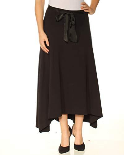 Jag Jeans Women's Hazel Cord Skirt, Black, 4