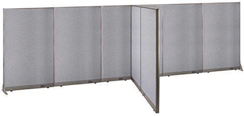 GOF T-Shaped Freestanding Partition 72d x 252w x 72h / Office, Room Divider by GOF