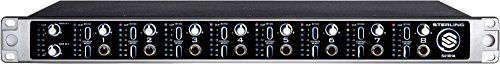 Rackmount Headphone Amplifier (Sterling Audio S418HA 8-Channel Rackmount Headphone Amplifier)