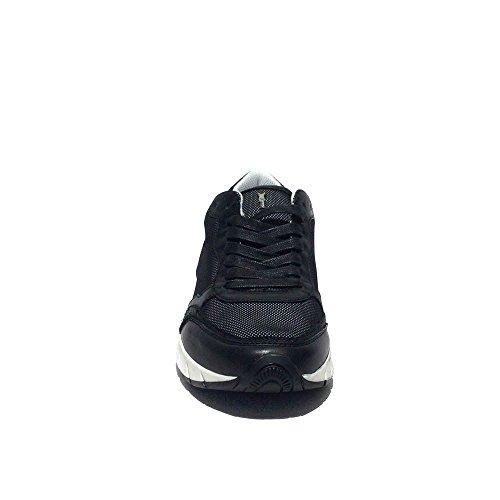 Crime London sneakers running nuovo pelle art.21321s15b