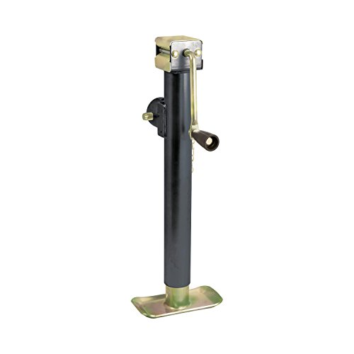 Koch Industries 4221025 Trailer Jack Weld-on Swivel Tube Mount, 5,000-Pound Lift Capacity, Sidewind, 15-Inch Travel by Koch Industries