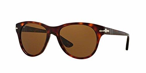 Persol PO3134S Sunglasses 24/57-54 - Havana Frame, Brown - Sunglasses Women Persol