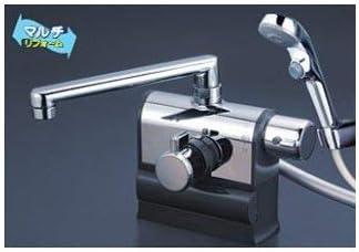 KVK KF3008RR2S2 デッキ形サーモスタット式シャワー ワンストップシャワーヘッド 240mmパイプ 右ハンドル仕様
