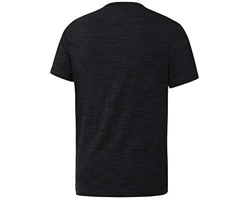Noir Marble shirt Reebok Melange T ABWqI