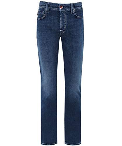 48 Slim fit Hombres Azul Regular Jeans Leonardo Tramarossa de 05qpOxx