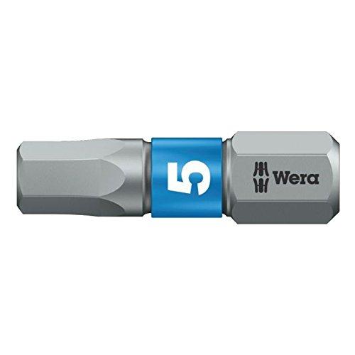 Wera 5056685001 840//1 BTZ Bits 5.0x25