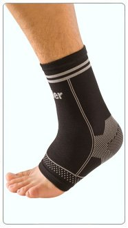 360 Brace - Mueller Sport Care 4-Way Stretch Ankle Support Braces size small/medium