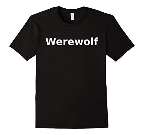 Mens Werewolf T-Shirt. Board Games Role Play LARP Halloween RPG Large (Dungeon Wear Halloween)
