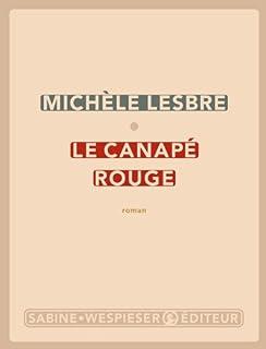 Le canapé rouge : roman, Lesbre, Michèle