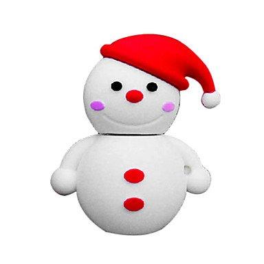 MM 8GB USB Flash Drive for Christmas (The Fancy Snowman) ()