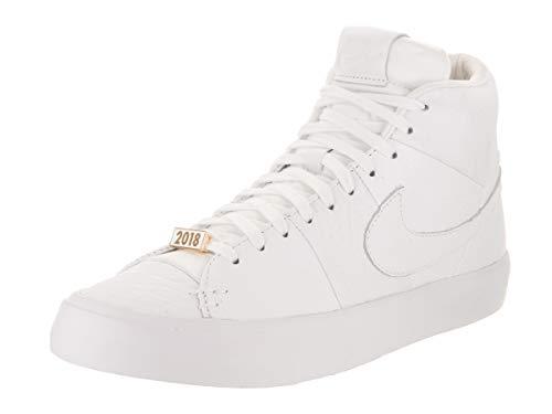 Herringbone Blazer Nike (NIKE Men's Blazer Royal QS White/White/White Basketball Shoe 9 Men US)
