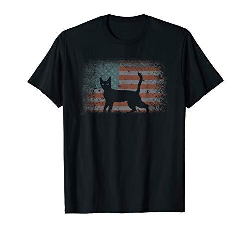 Vintage retro Flag Bengal Cat, Best Friends For Life funny T-Shirt (Cat Best Friends For Life Shirt)