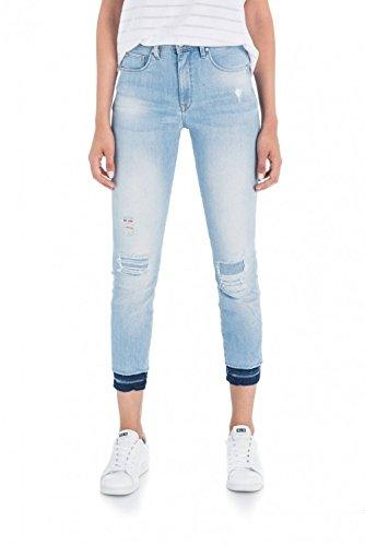Salsa Denim Azzuro Mix Con Jeans Di Capri Glamour Secret fBf60wrx