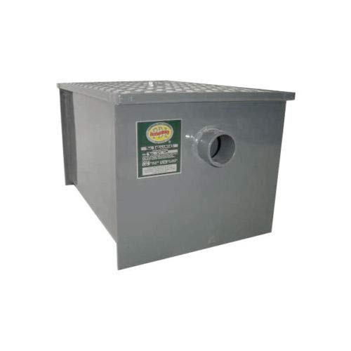 Commerical Grade Carbon Steel Grease Trap 20 lb PDI Approved by L and J