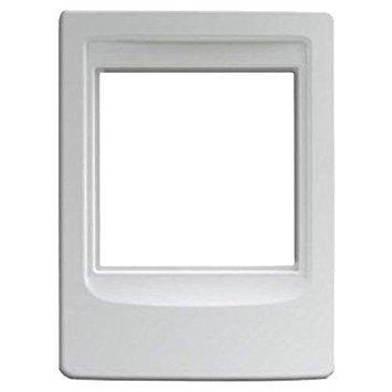 NuTone NF300PWH Outdoor Remote Station Retrofit Frame - White Nutone Intercom ()